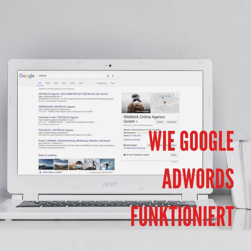 Beitragsbild Google AdWords