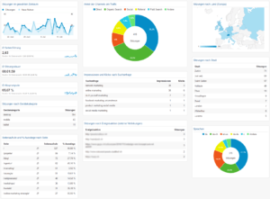 Weitblick Agentur - Google Analytics Dashboard