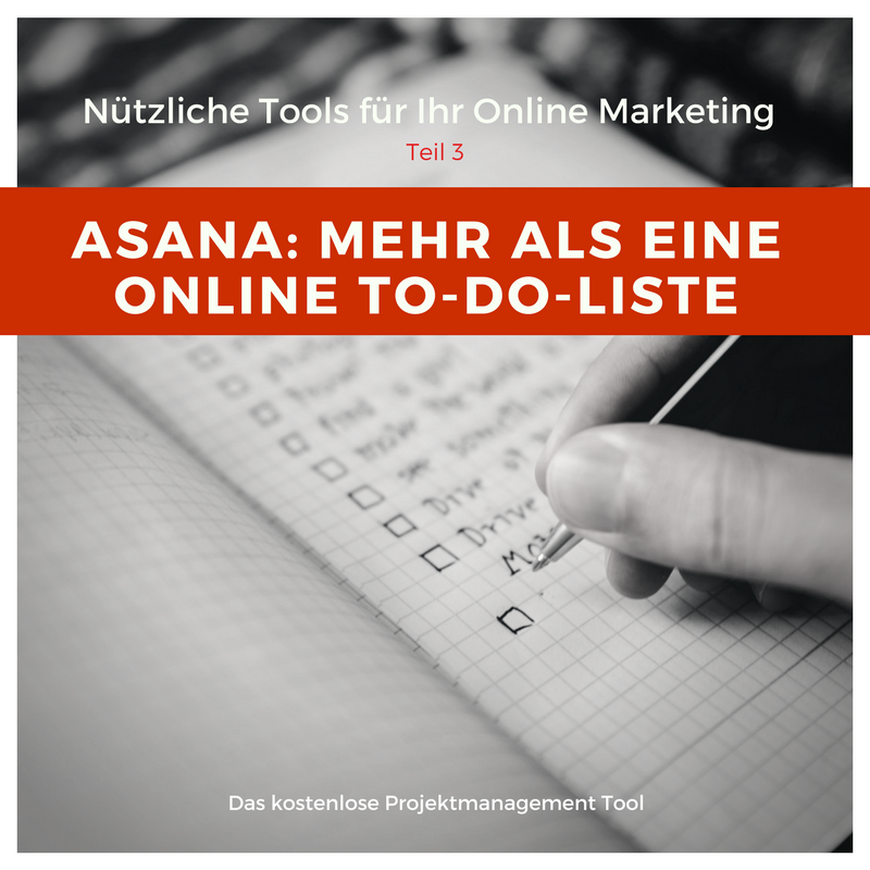Online Marketing Tools Asana