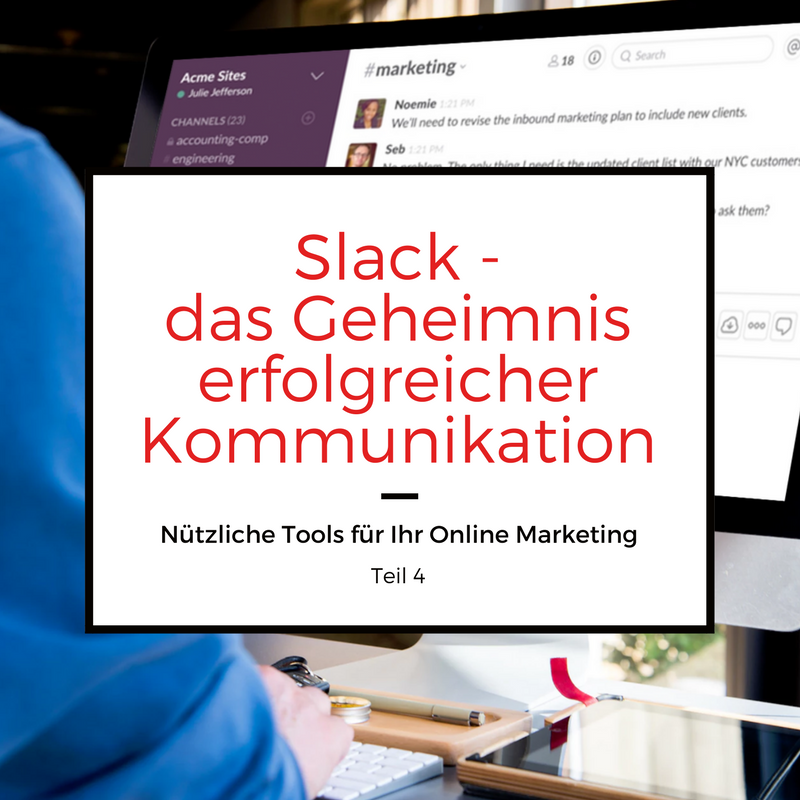 Online Marketing Tool Slack