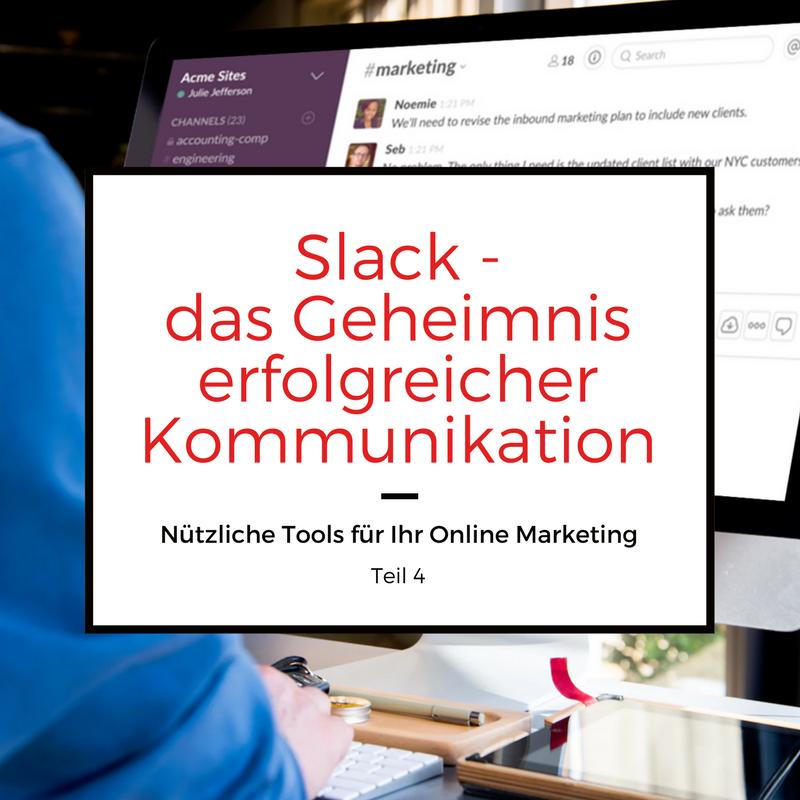 Online Marketing Tool Slack