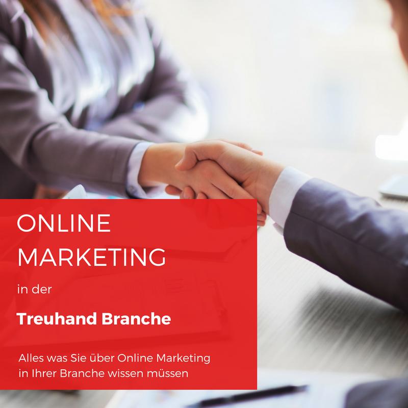 Beitragsbild Online Marketing in der Treuhand Branche