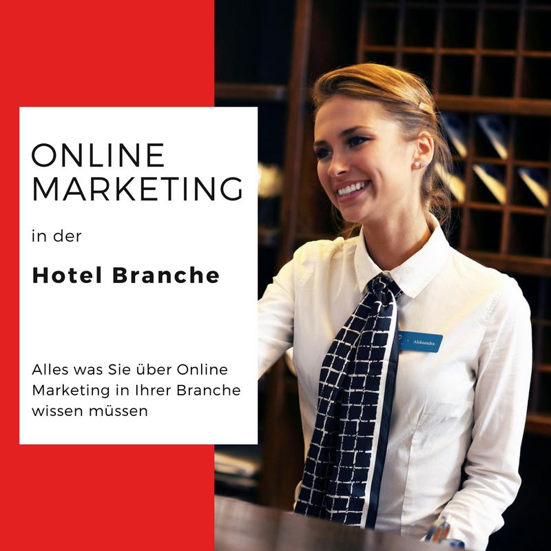 Beitragsbild Online Marketing Frau im Hotel