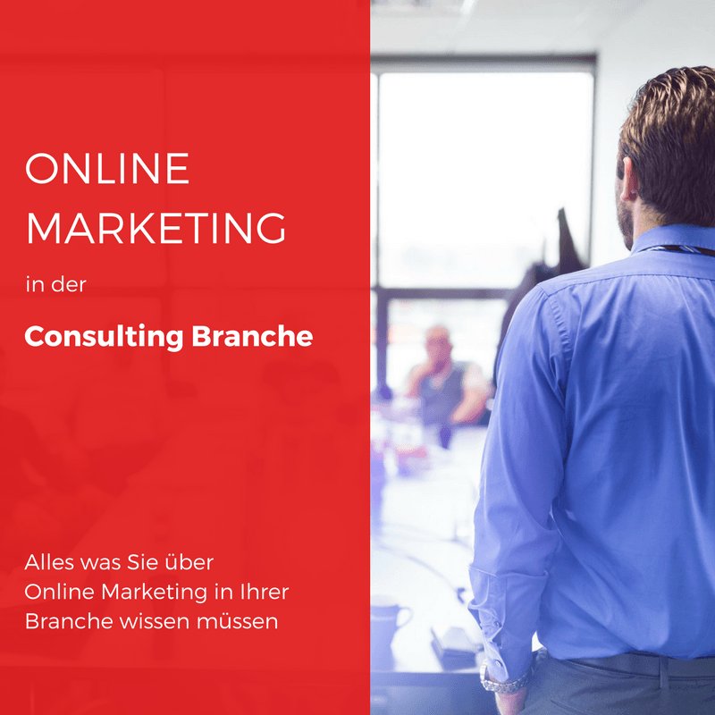 Beitragsbild Online Marketing im Consulting