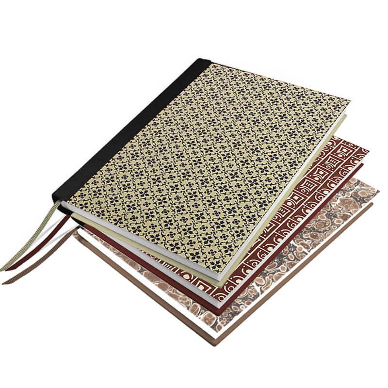 Drei Notizbücher zum Selbermachen