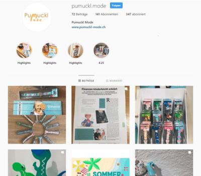 Pumuckl Mode Social Media