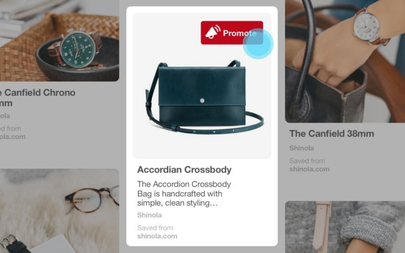 Promoted Pin Pinterest Beispiel