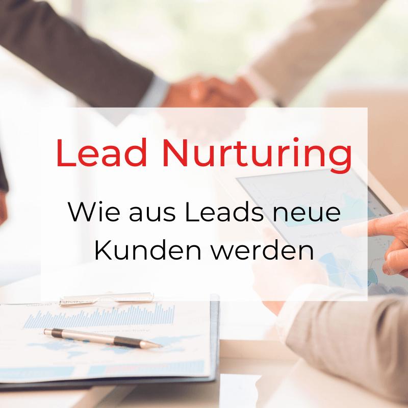 Lead Nurturing Beitragsbild