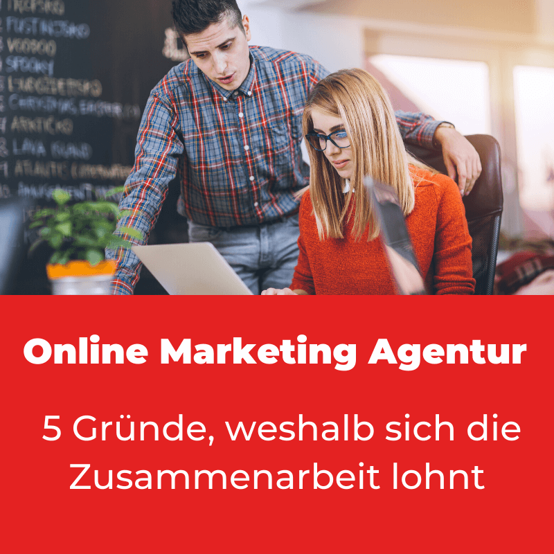 Online Marketing Agentur Zusammenarbeit