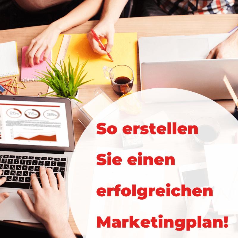 So erstellen Sie einen erfolgreichen Marketingplan _ Beitragsbild