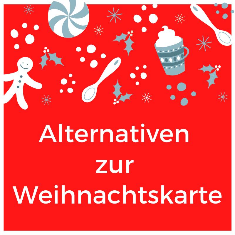 Beitragsbild Alternativen zur Weihnachtskarte