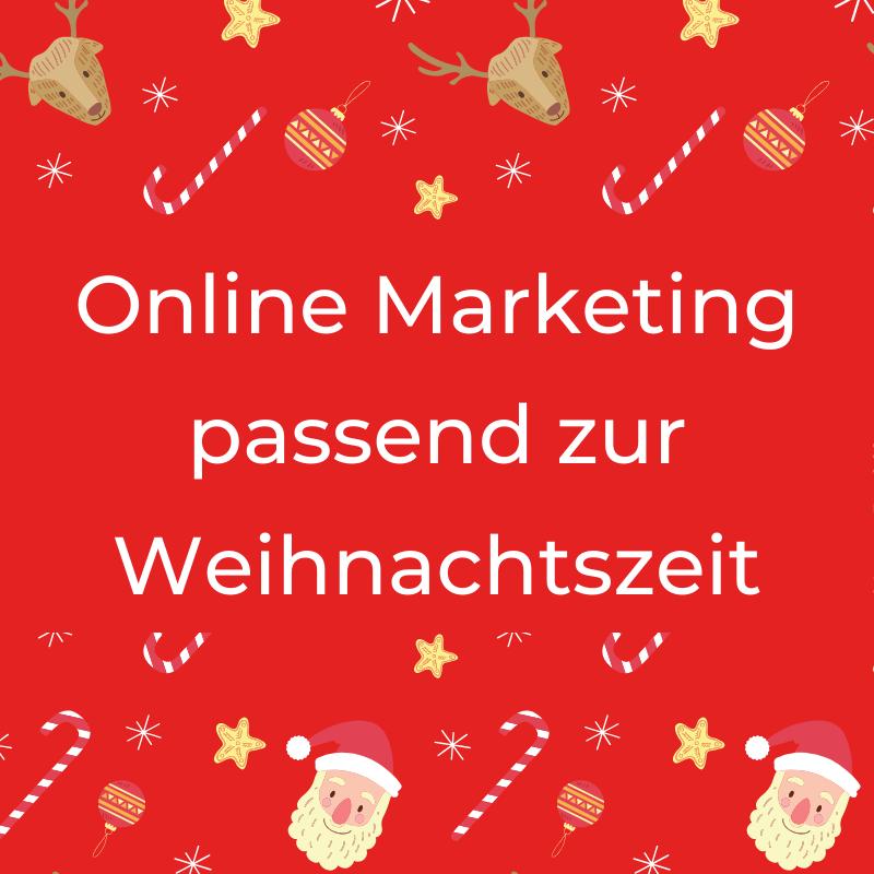 Online Marketing Massnahmen Weihnachtszeit
