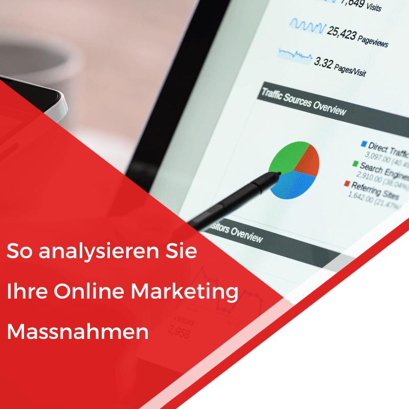 Beitragsbild So analysieren Sie Ihre Online Marketing Massnahmen